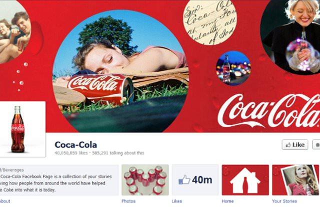 Coca-Cola Facebook Timeline