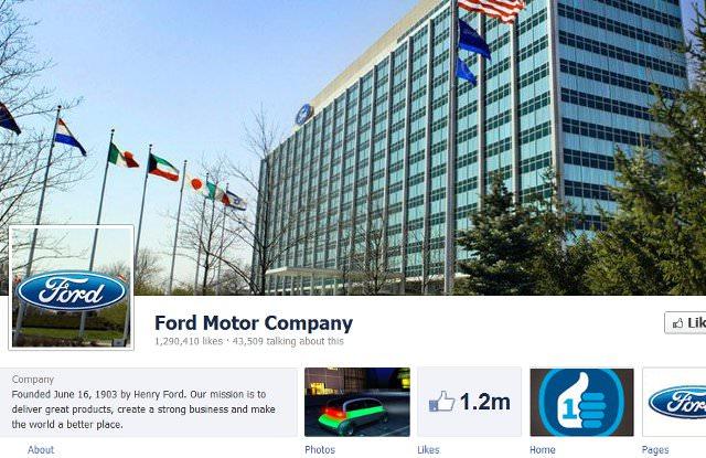 Ford Facebook Timeline