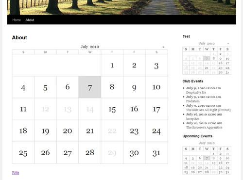 Chèn Calendar từ Google vào WordPress