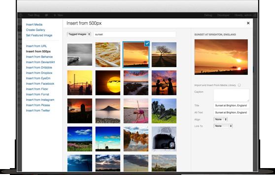 Quản lý hình ảnh trong WordPress
