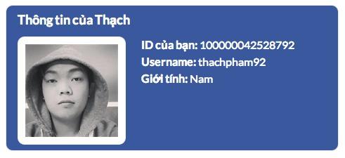 Shortcode lấy thông tin từ Facebook