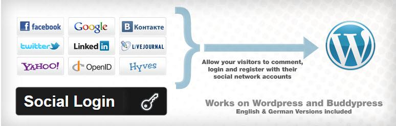 Đăng nhập vào WordPress bằng tài khoản Google,Facebook,..