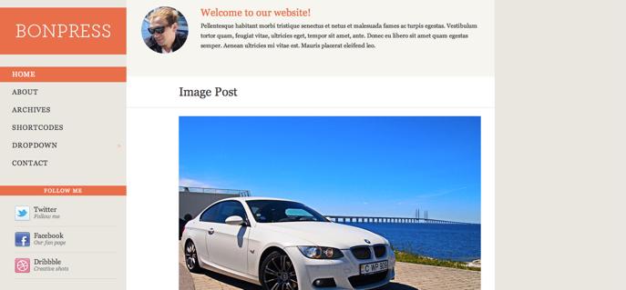 Themes WordPress mang phong cách Tumblr