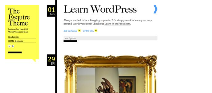 Theme WordPress mang phong cách Tumblr