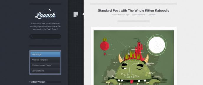 Themes WordPress mang phong cách Tumblr chuyên nghiệp