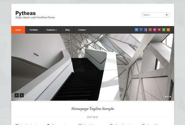 Themes WordPress miễn phí hỗ trợ đăng Portfolio