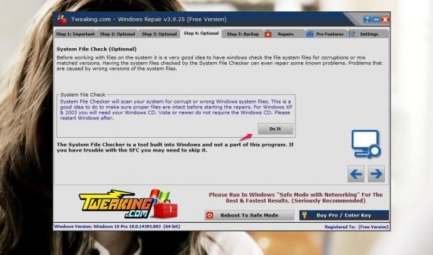 Sửa lỗi trên Windows đơn giản với Windows Repair Tool